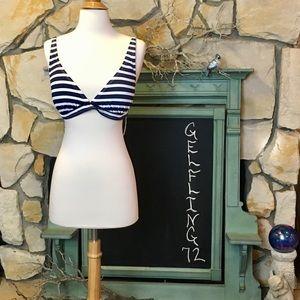 Tommy Bahama Striped Bikini Top